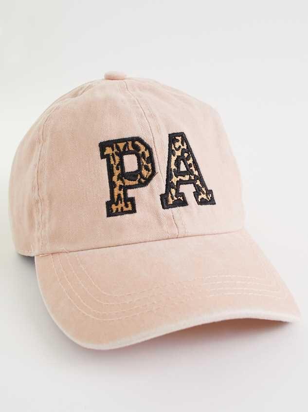 Pennsylvania Leopard Baseball Hat - Altar'd State