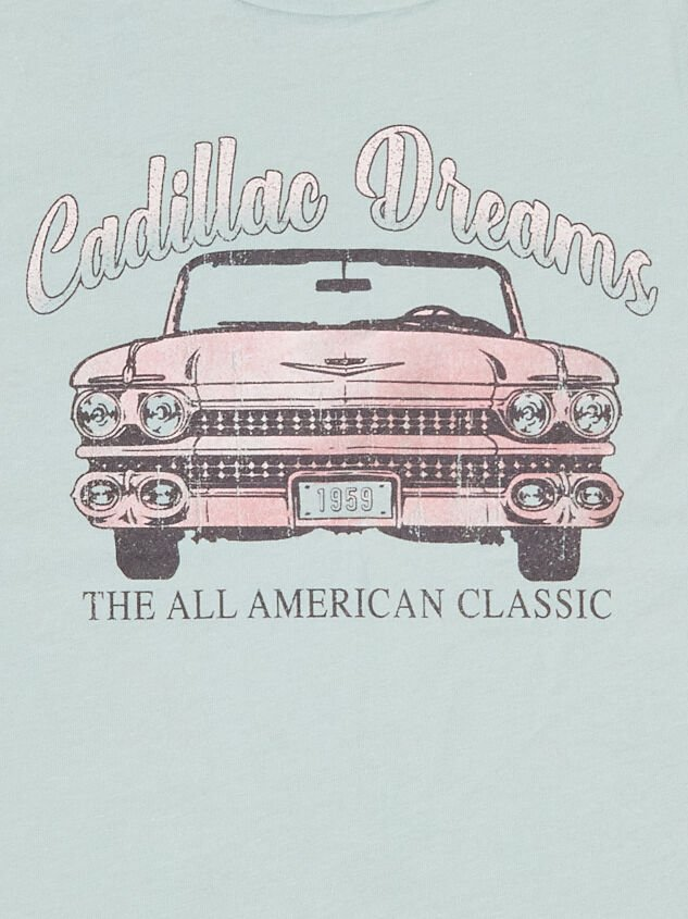 Tullabee Cadillac Dreams Tee Detail 3 - Altar'd State