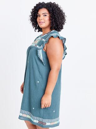 Elsie Embroidered Dress - Altar'd State