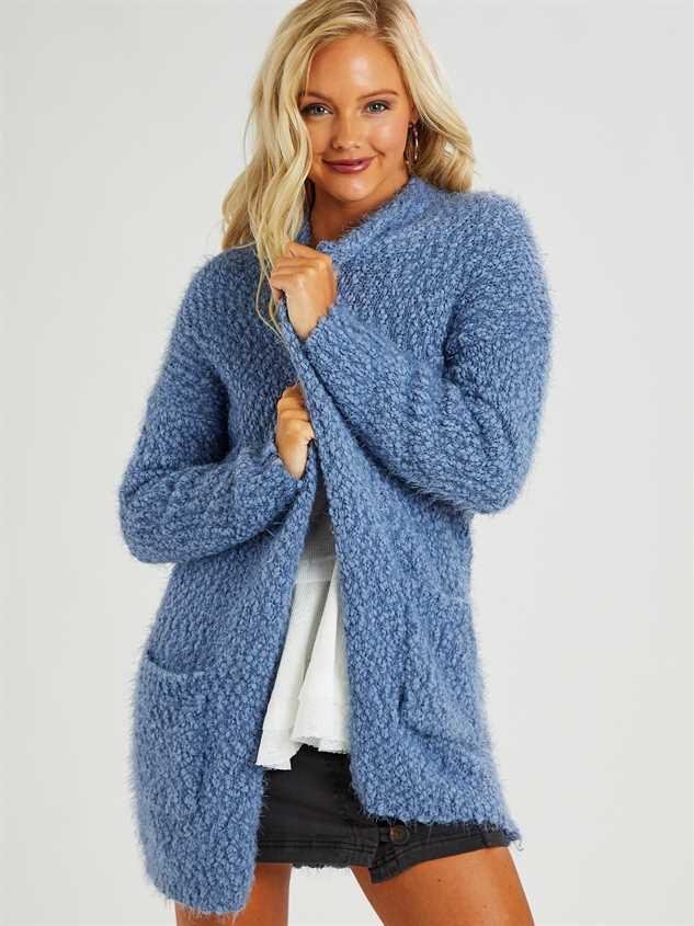 Eyelash Cardigan Sweater - Altar'd State