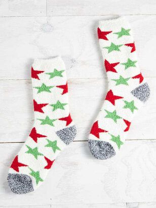 Cozy Star Socks - Altar'd State