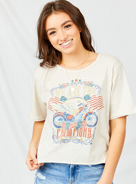 Champions Cropped Tee - Altar'd State