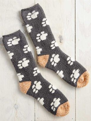 Cozy Dog Paw Socks - Altar'd State