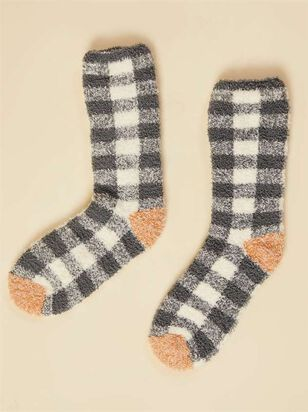 Antique Plaid Socks - Altar'd State
