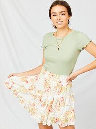 Cara Floral Skirt Detail 4 - Altar'd State