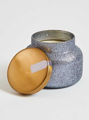 Grey Glitter Jar Candle - Volcano Scent - Altar'd State