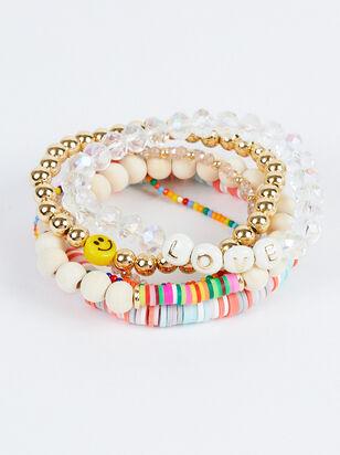 Love & Smiles Bracelet Set - Altar'd State