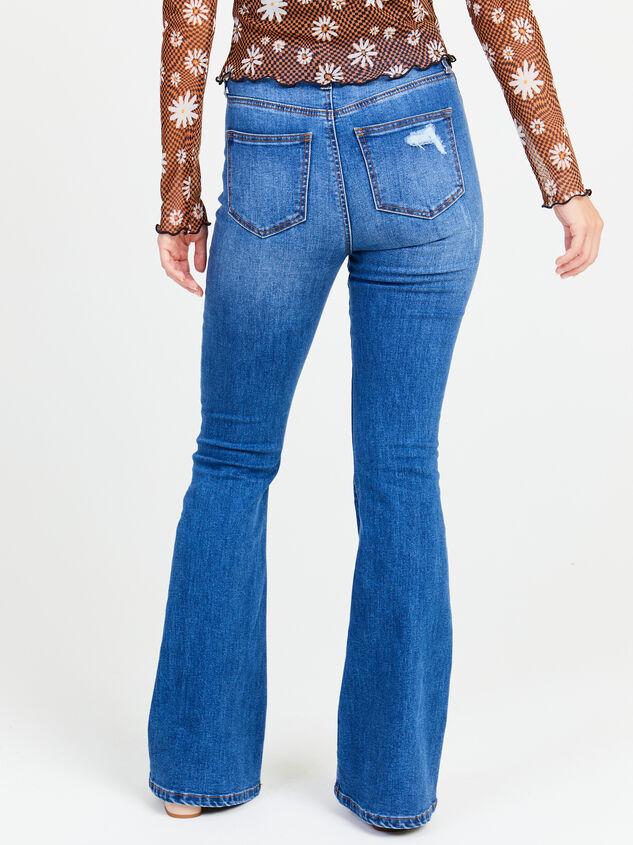 Taylor Flare Jeans Detail 4 - Altar'd State