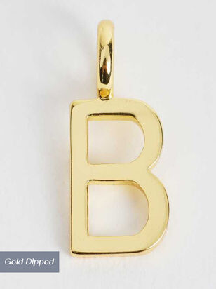18k Gold Initial Charm - B - Altar'd State