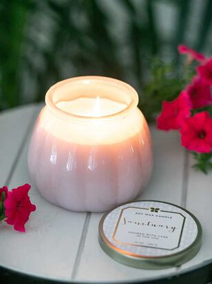 Blush Milk Glass Sanctuary Candle - Altar'd State