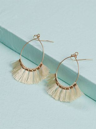 Tickled Tassel Earrings - Altar'd State