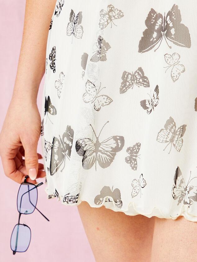 Butterfly Mesh Dress Detail 5 - Altar'd State