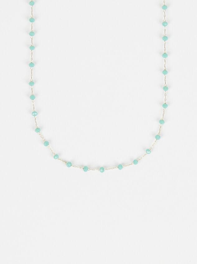 Tide Pool Necklace - Jade Detail 2 - Altar'd State