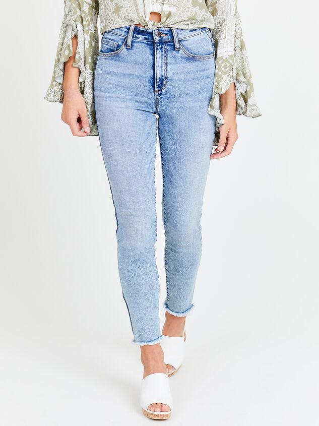 Gold Coast Skinny Jeans Detail 1 - Altar'd State