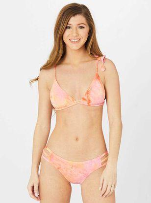 Torino Pink Tie Dye Bikini Swim Top - Altar'd State
