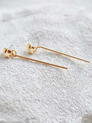 Star Bar Earrings - Altar'd State