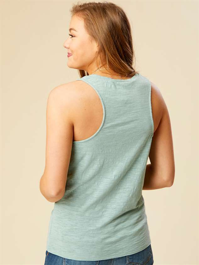 Favorite Fit Knot Tank Detail 3 - Altar'd State
