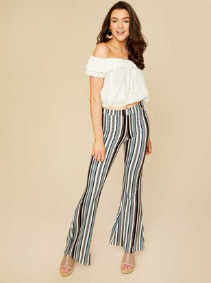 Callista Flare Pants - Altar'd State