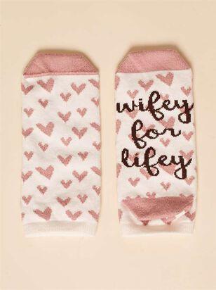 Wifey for Lifey Socks - Altar'd State