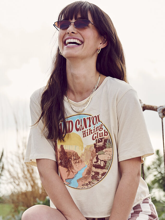 Grand Canyon Hiking Club Cropped Tee - Altar'd State