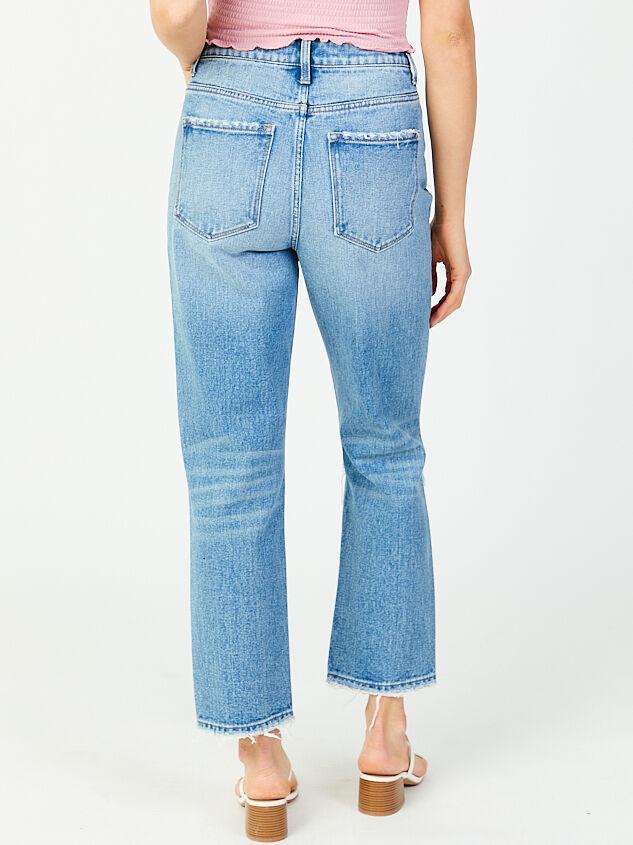 Kate Straight Leg Jeans Detail 3 - Altar'd State