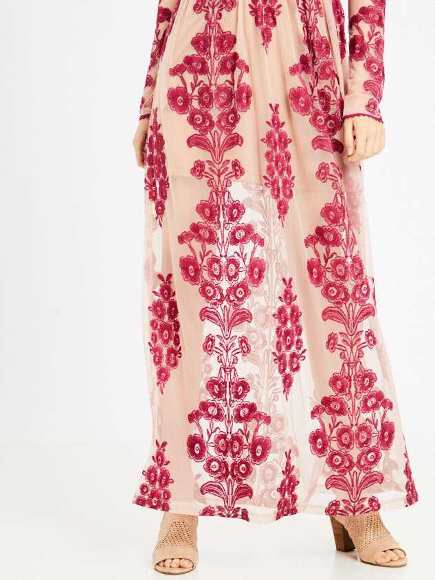Norrie Maxi Dress Detail 5 - Altar'd State