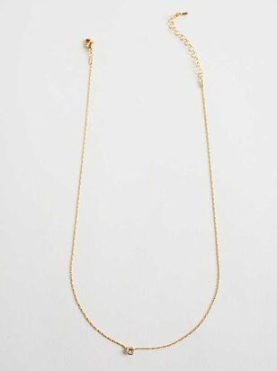 Dainty Chanel Charm Necklace - Gold - Altar'd State