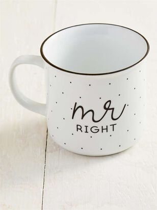 Mr. Right Est. 2019 Mug - Altar'd State