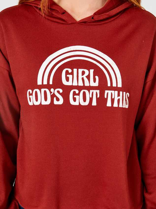 God's Got This Hoodie Detail 4 - Altar'd State