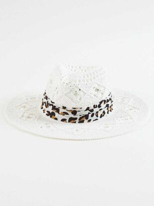 Leopard Straw Hat - Altar'd State