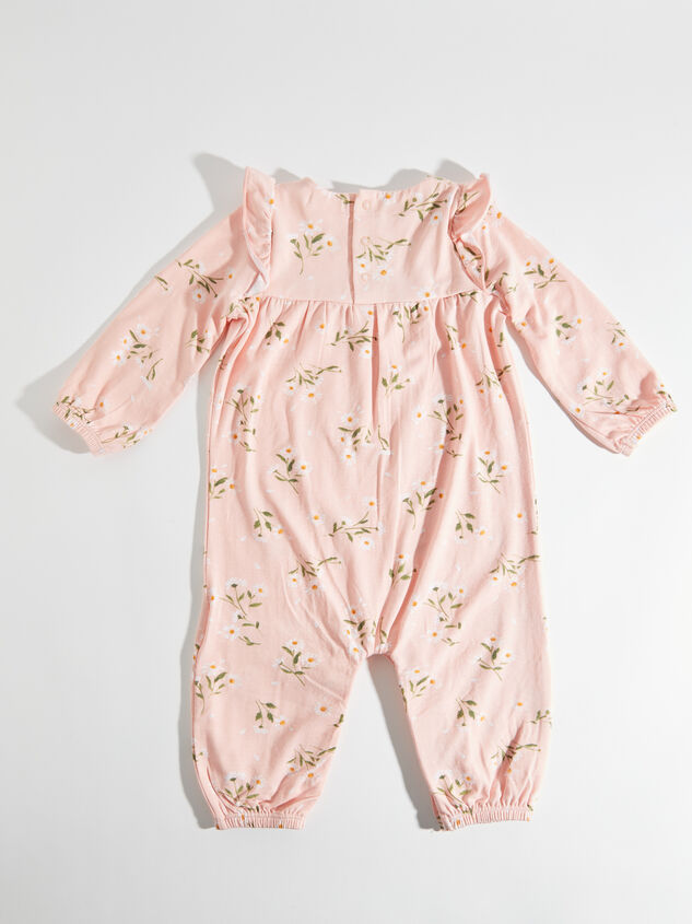 Tullabee Ruffle Sleeve Daisy Romper Detail 2 - Altar'd State