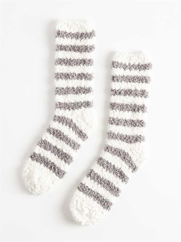 Oh, So Cozy Socks – Stripes - Altar'd State