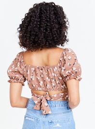 Dainty Floral Top - Coco Detail 2 - Altar'd State