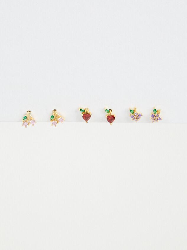 Fruit Basket Earring Set Detail 3 - Altar'd State