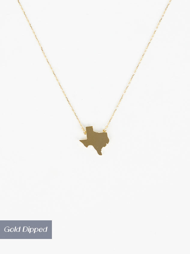 Dainty Texas Necklace - Altar'd State