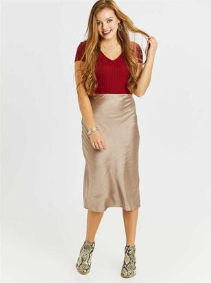 Becca Midi Skirt - Altar'd State