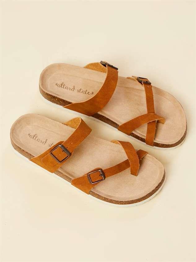 Bork Double Buckle Sandals Detail 3 - Altar'd State