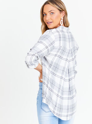 Izzy Plaid Top - Altar'd State