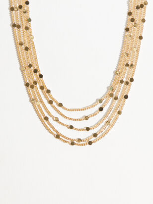 5 Layer Shine Necklace - Altar'd State