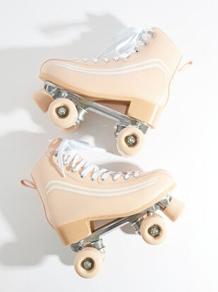 Derby Retro Striped Skates - Altar'd State