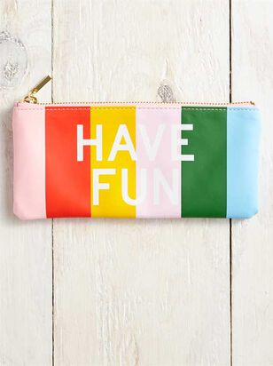 Have Fun Rainbow Pencil Pouch - Altar'd State