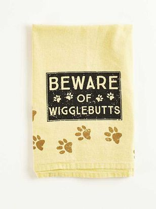 Beware of Wiggle Butts Hand Towel - Altar'd State
