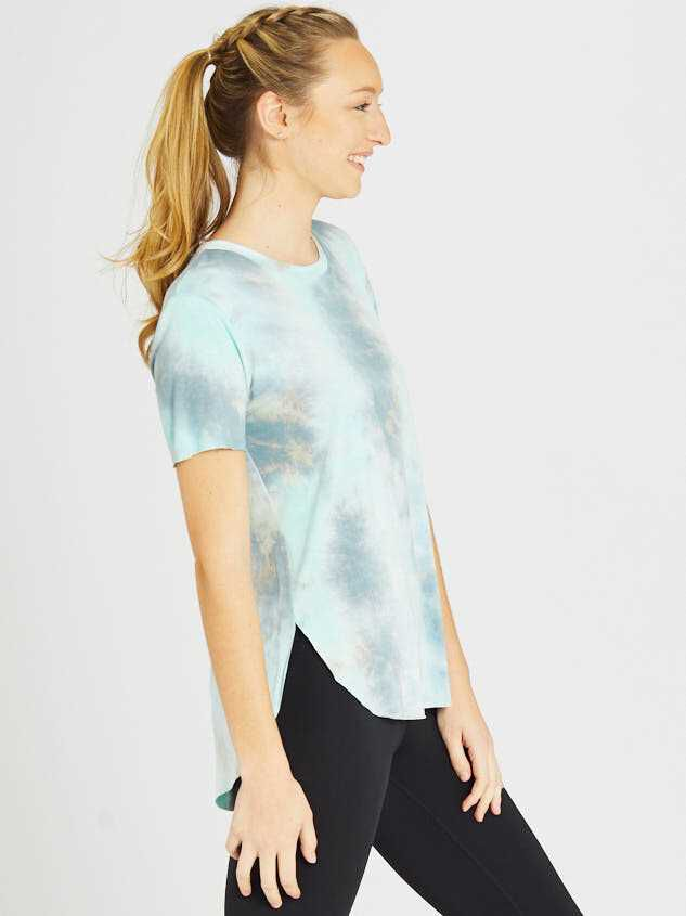 Revival Limitless Tie Dye Top Detail 3 - Altar'd State