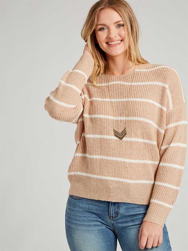 Mina Sweater - Striped - Altar'd State