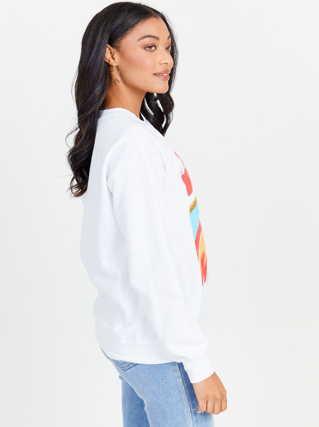 Don't Trip Sweatshirt Detail 2 - Altar'd State