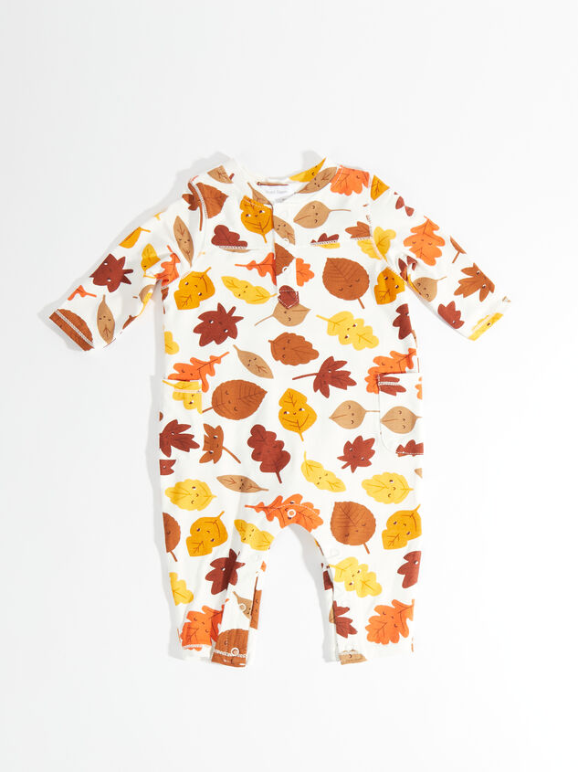 Tullabee Fall Leaves Romper - Altar'd State