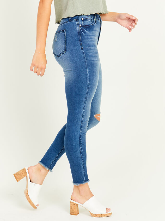 Relinquish Skinny Jeans Detail 3 - Altar'd State