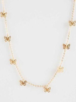 Butterfly Garden Necklace - Altar'd State
