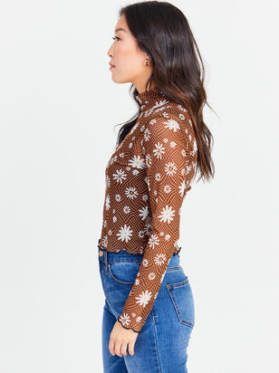 Daisy Mesh Top - Altar'd State