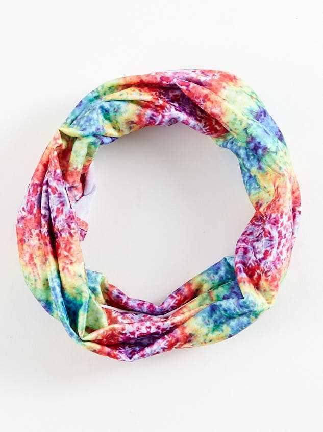 Rainbow Tie Dye Hair Bandeau - Altar'd State